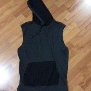American Rag Sleeveless hoodie